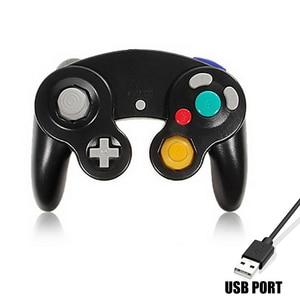 Image 2 - HAOBA вибрация джойстика для игр, Ударная вибрация джойстика для Ninten, контроллер GameCube для Pad, два вида интерфейса, разные цвета на выбор