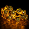 Solar Power 20 LED Lights For Garden Tree Wedding Decoration String Fairy Ball Party Light Garland