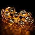 Energia solar de 20 Luzes LED Para Jardim Decoração Do Casamento Da Árvore Fada Cordas Garland Partido da Bola de Luz Ao Ar Livre Luz À Prova D' Água