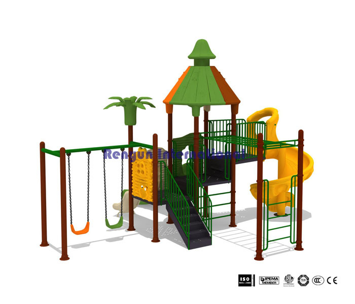ryc 003 outdoor playsets fitness play equipment swing sets plastic kids slides children. Black Bedroom Furniture Sets. Home Design Ideas