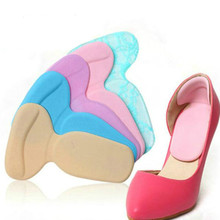 1 пара, разноцветные мягкие стельки для ухода за ногами, ортопедические стельки, защита на высоком каблуке, Нескользящие мягкие подушечки для обуви, корректор буйона