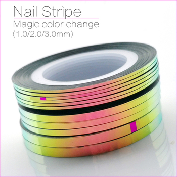 10Pcs CHAMELEON STRIPING TAPE -1MM/2MM/3MM NAIL ART STRIPING TAPE - SET OF 10 NAIL ART STRIPE LINE ADHESIVE STICKER DECALS,2019 55cm lifelike boneca reborn baby doll soft real touch full silicone toys for children birthday gift crooked mouth doll kids