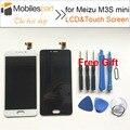 Para meizu m3s mini tela de lcd de alta qualidade new substituição display lcd + touch screen para meizu m3s mini smartphone