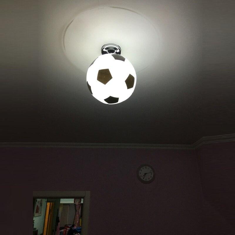 Geliefde Kinderkamer voetbal lamp mand bal plafondlamp bar nieuwigheid WE48