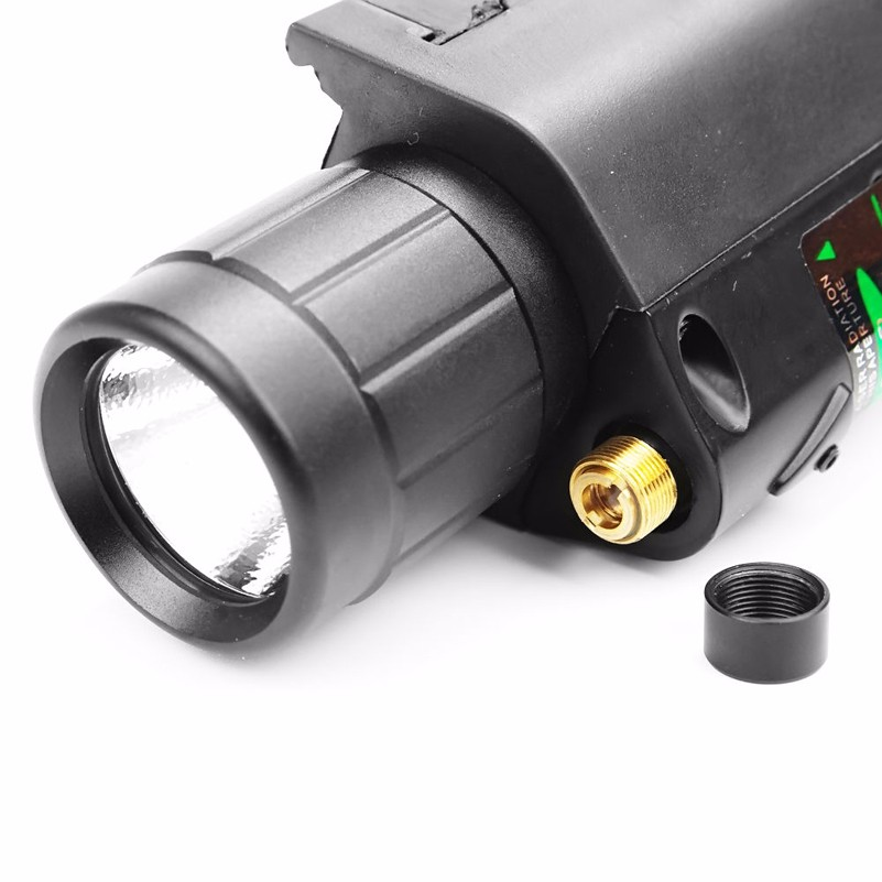 lanterna com 20mm picatinny montagem em trilho