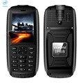 VKworld Stone V3 Max IP68 5300 МАЧ Батареи 2.4 Дюймов Мобильный Телефон Водонепроницаемый Анти Низкотемпературной Fm-радио Bluetooth сотовый Телефон