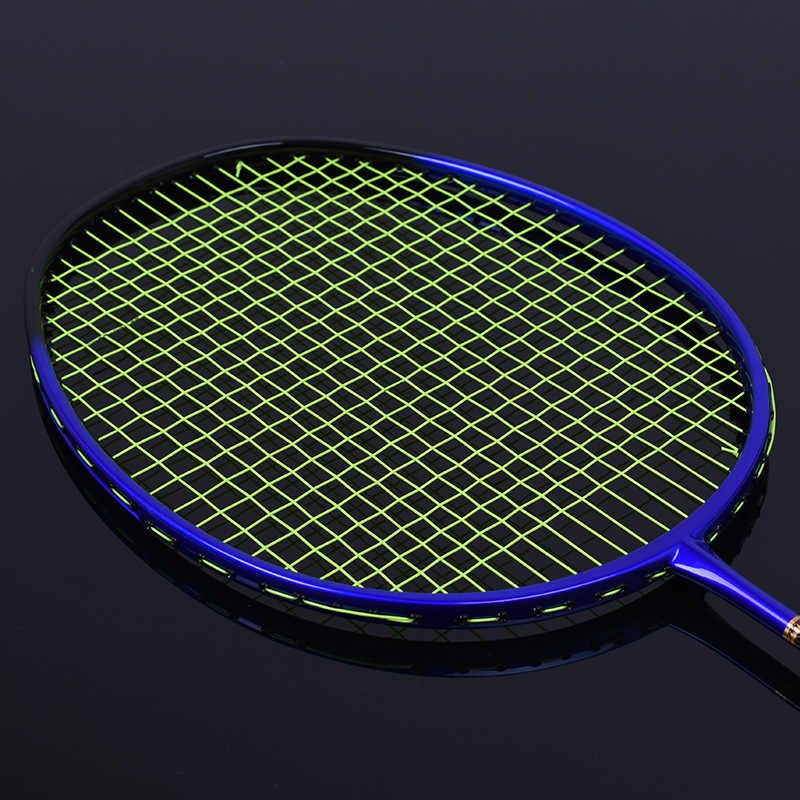 1pc ZARSIA Badminton Racket Full Carbon Offensive And Defensive Light 4U 82g Racket