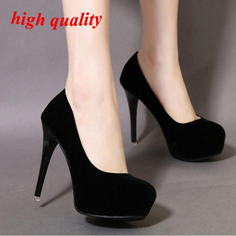 disponibilidad en el reino unido bee96 607e3 Zapatos de la oficina tacones altos mujeres bombas tacones ...