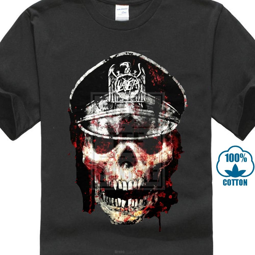 Slayer Graphic Skull Shirt S M L XL XXL T-Shirt Thrash Metal Band Tshirt Officl