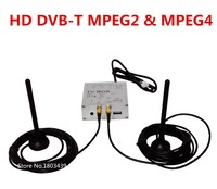 Speciale Auto HD DVB-T Digitale TV Tuner Receiver Box Ondersteuning Zowel MPEG4 MPEG2 Signaal Met Dual Antenne Voor Europa