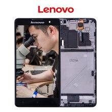 Original Para Lenovo S898T pantalla LCD de 5.3 pulgadas 1280×720 Pantalla Para Lenovo S898 S898T Pantalla Táctil LCD con Marco el Montaje del digitizador