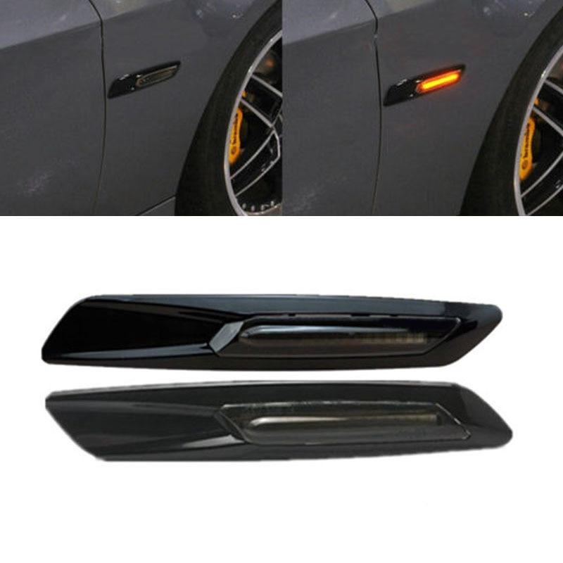 2x Car Styling Side Marker Led Car Turn Signal Light For