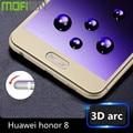 honor 8 glass tempered huawei honor8 screen protector 64gb huwei hauwei honor 8 3d full cover 5.2 inch anti glare hawei 32gb