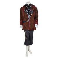 Алиса в стране чудес, Джони Депп, Mad Hatter, костюм для костюмированной вечеринки, полный комплект, костюмы для взрослых на Хэллоуин, мужские кос