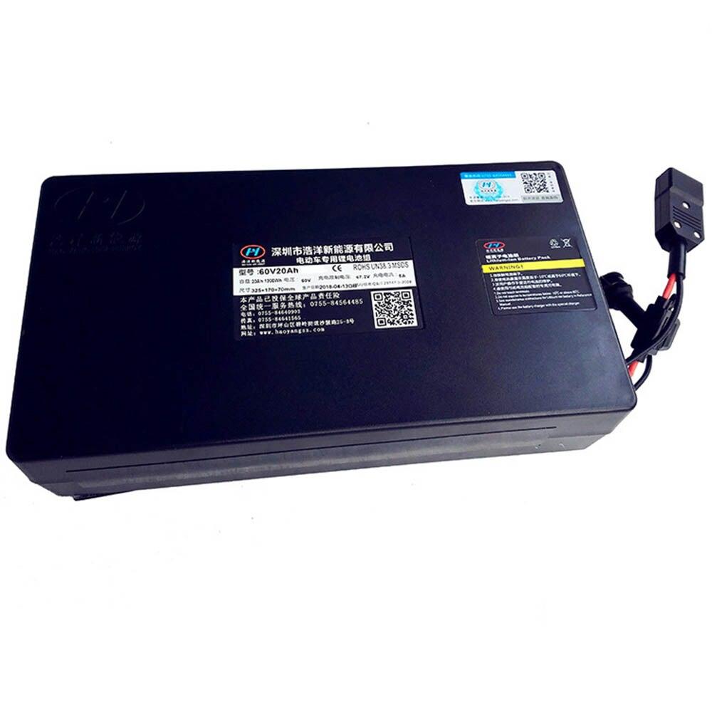 Amovible 12AH 60 v 20ah batterie pour harley électrique scooter citycoco