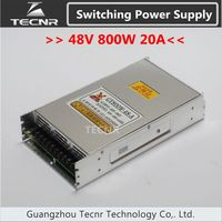 48V 800W Cnc Router Switching Power Supply Ajustable 20A Stepper Motor Power