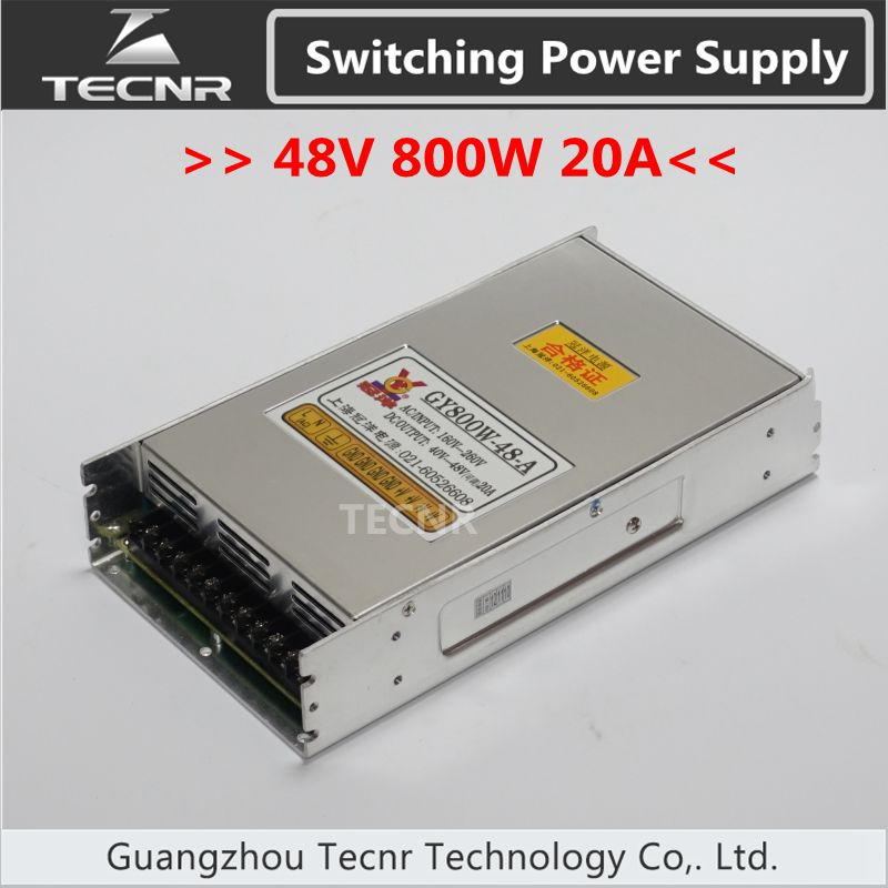 48V 800W Cnc Router Switching Power Supply Ajustable 16A