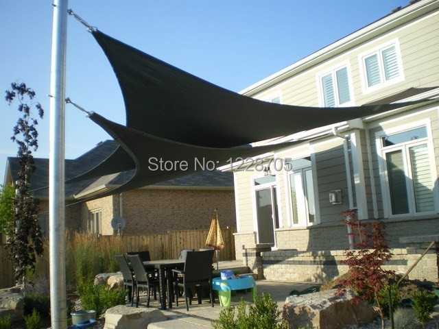 Customized Waterproof 15u0027 right triangle (4.5m) shadecloth fabrics sun shade Roof Top Canvas for garden playground patio-in Shade Sails u0026 Nets from Home ... & Customized Waterproof 15u0027 right triangle (4.5m) shadecloth fabrics ... memphite.com