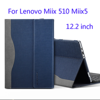 Creative Design Tablet PC Cover For 12.2 Lenovo Miix 510 Miix 5 Laptop Sleeve Case PU Leather Skin Protective Gift