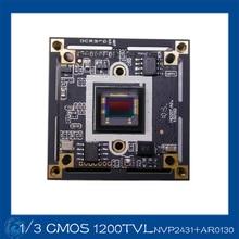 AHD 1.3MP 1/3″ CMOS Exmor CMOSNVP2431+AR0130 chipset CCTV camera module board, chip board.NVP2431+AR0130 chipset