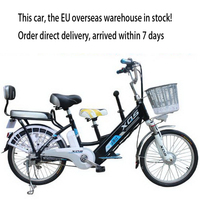 EU/Lithium Electric Bicycle / 20 inch long distance running electric car / lithium battery 48V power battery car
