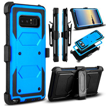 For Samsung Galaxy Note 9 note8 Case Shockproof Rugged Hybrid Armor Case Holster Belt Clip Defender Phone Cover with