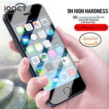 My Colors(2 шт/комплект) 2.5D защитное стекло на айфон SE Защитная пленка для экрана на iphone se стекло 9H защитное стекло айфон 5s 5 0.26MM HD