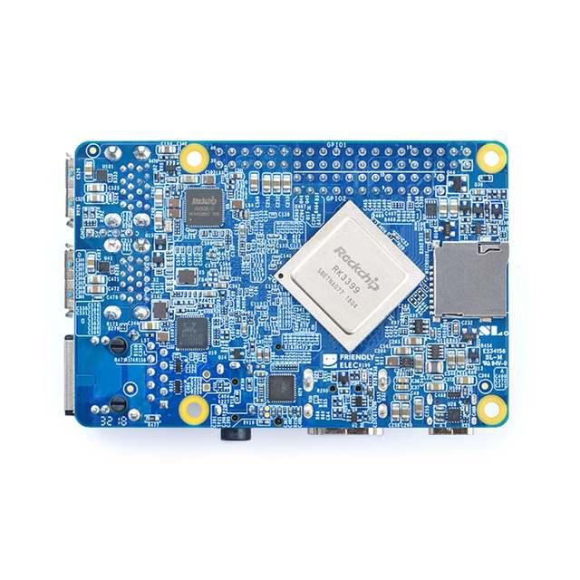 US $75 98 5% OFF FriendlyARM NanoPi M4 2GB/4GB DDR3 Rockchip RK3399 SoC  2 4G & 5G dual band WiFi,Support Android 8 1 Ubuntu, AI and deep  learning-in