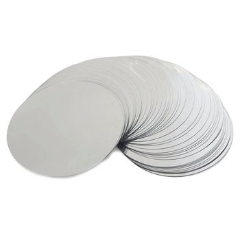 50Pcs 3inch Silver Wine Pourer Disk Drip-proof Drop Drip Stop Pouring Pour Spout - discount item  18% OFF Kitchen,Dining & Bar