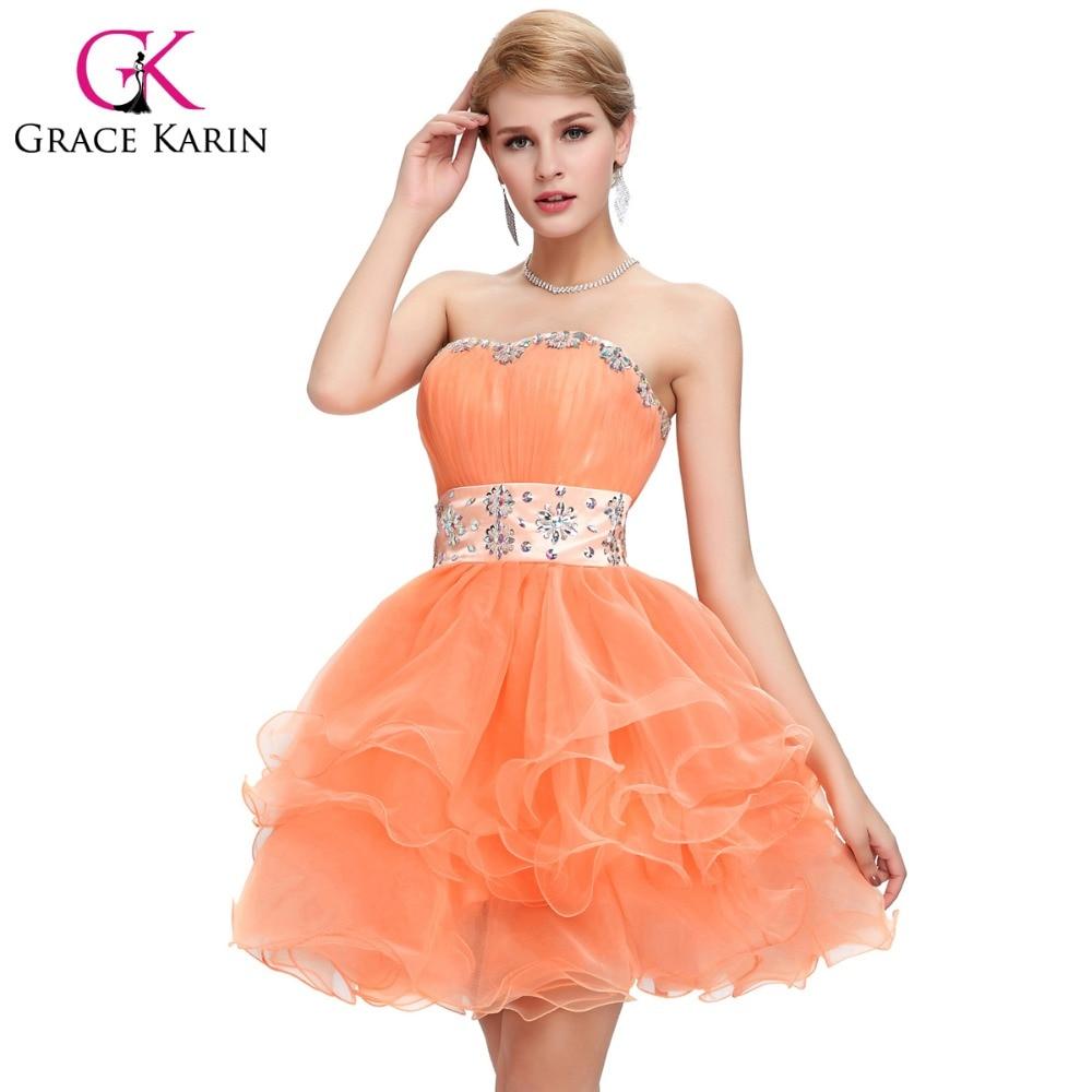 Short Orange Prom Dresses | Dress images