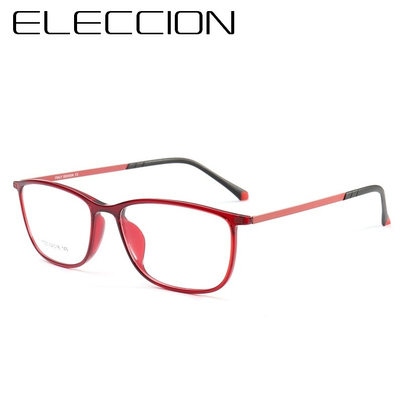 af247d5fb5 ELECCION High Quality Ultra Light ULTEM Eyewear Fashion Myopia Prescription  Glasses For Women Suitable For All Kinds of Face-in Eyewear Frames from  Apparel ...