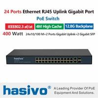24 Порты и разъёмы 10/100 м Ethernet коммутатор PoE сюда Беспроводной AP IP Камера с 24 Порты и разъёмы 100 M PoE 2 Порты и разъёмы 1000 м Rj45 2 Порты и разъёмы 1000 м