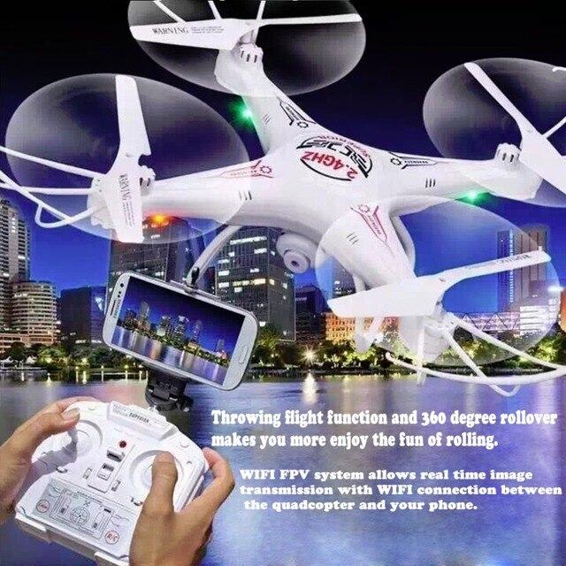 WI-FI в Режиме реального Времени Передачи Новое Прибытие Камеры Quadcopter HD Explorer 3D акробатика действия поддержка FPV RTF