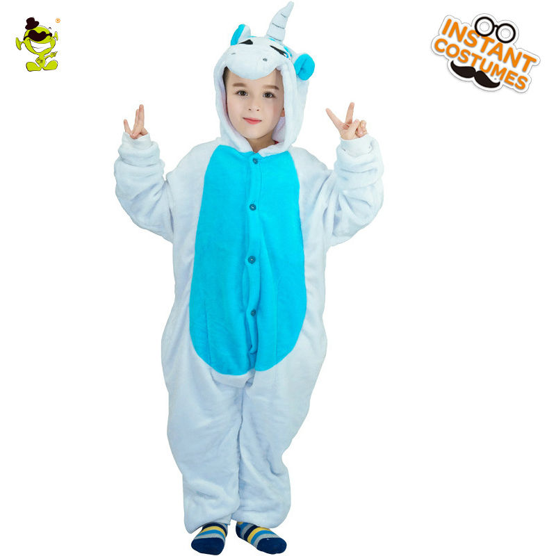 Unisex Kid-Elephant Animal Pajamas Costume Masquerade Xmas Gift for Boys and Girls Cosplay Halloween Party