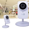 WiFi Netcam HD IP Camera P2P Video Night Vision Motion Detection for iOS Android US plug