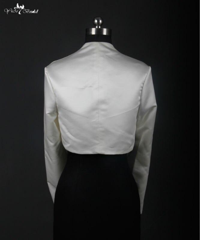 RSJ1 Long Sleeve Jacket Champagne Wedding Accessories Bolero-in ... 9ceff95d1