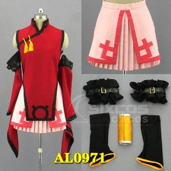 Guilty Gear XX KURADOBERI Uniforms Cosplay Costume Free Shipping