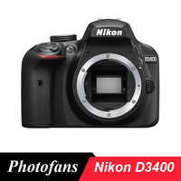 Nikon  D3400 DSLR Camera  -24.2MP  -Video -Bluetooth  (Brand New)