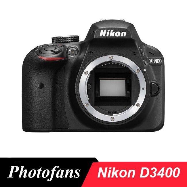 Nikon D3400 DSLR Caméra-24.2MP-Vidéo-Bluetooth (flambant neuf)
