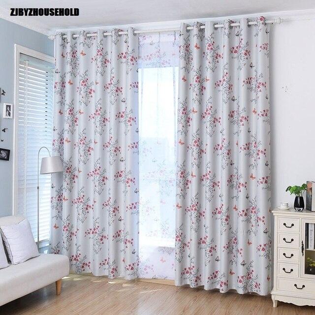 Venta barata Cortinas para Living comedor BedroomPrinted cortinas