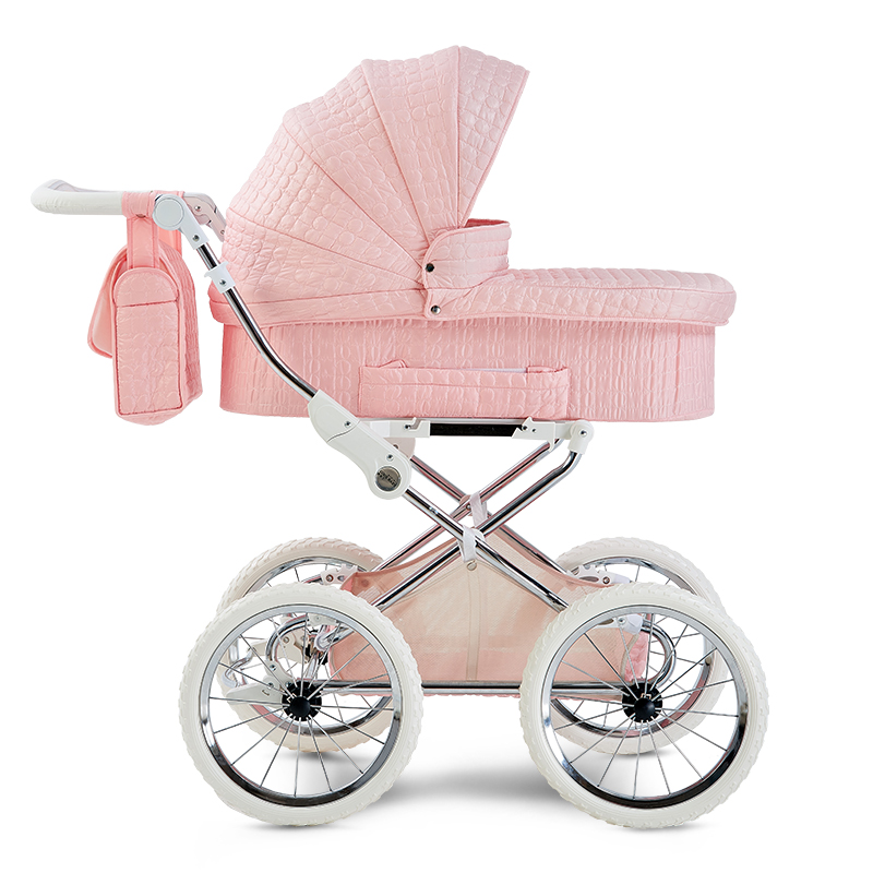 Europe Baby Stroller Two-way Reduce Vibration Trolley Luxury High-profile BB Carriage Newborn Baby Umbrella Cart