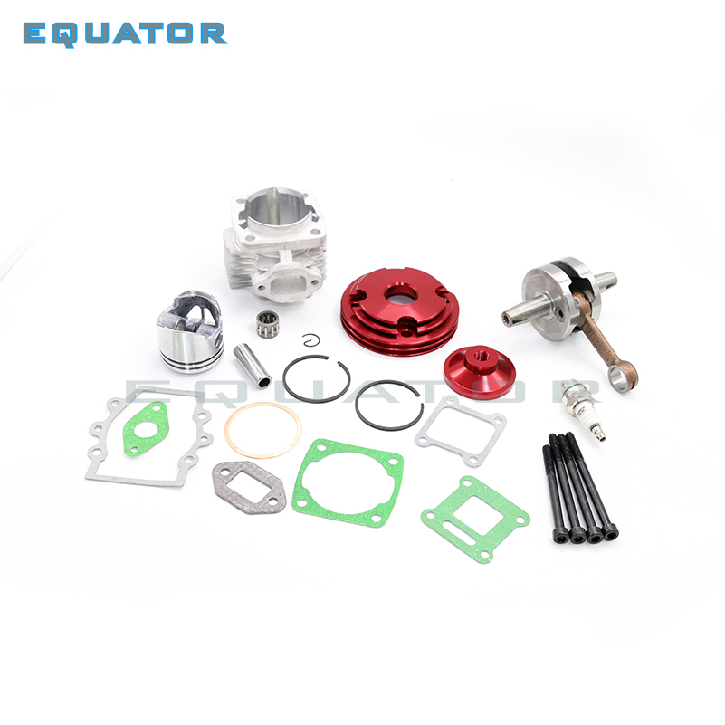 motorcycle dirt pit BIKE ATV 49CC 2 STROKE 44mm cylinder piston Spark plug gasket Kit WIth 44-6 Crankshaft FOR ATV STAGE