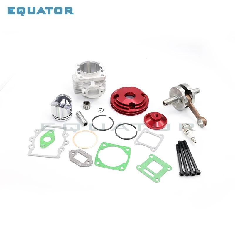 49cc Mini Moto Engine High Compression Piston And Performance Head Kit