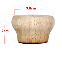 Купить с кэшбэком H:20MM   Rubber Solid wood cabinet table foot mat ball furniture legs