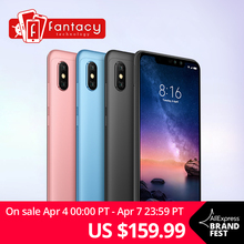 Global Version Xiaomi Redmi Note 6 Pro 3GB 32GB 6.26″ 19:9 Full Screen 1080P Dual Camera Smartphone Snapdragon Octa Core CE FCC