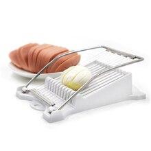 Mit Continental Alloy draht slicer Mittagessen fleisch ei foie gras obst Käse schinken slicer Phantasie cut Küche Kochen Werkzeuge