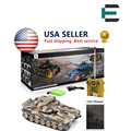 1/20 RC Tank 99802 9CH 27Mhz Infrared RC Battle Tiger T90 Tank Cannon And Emmagee Remote Control Tank Fort Rotate Fighting Tank