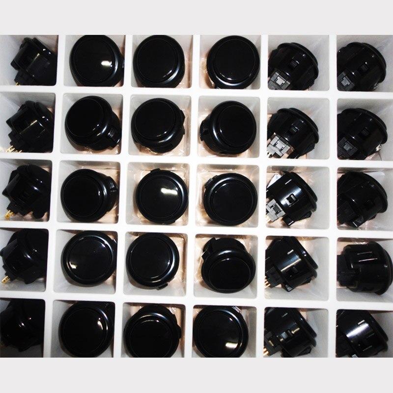 12 vnt. Oficialios originalios OBSF30 sanwa mygtukų arkadinių žaidimų dalys