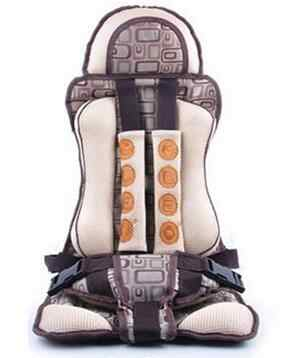 Children Car Safety Seat Belt Baby Seat Belt Car Safety Chair Simple Portable seats 0-5 Years Cadeira Para Carro 0-18KG