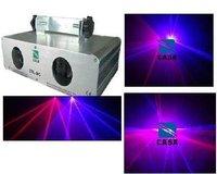 Professionelle bühnenlicht red + violet laserlicht DJ disco bar beleuchtung zeigen